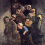 Paintingdb Daumier Honor Children Coming Out