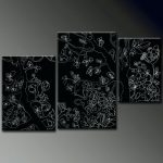 Paintings Black Canvas Unique Ideas Acrylic Painting Canvases