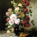 Paintings Flowers Famous