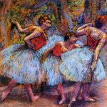Paintings Spring Edgar Degas Iulie Septembrie Pictor