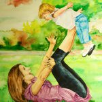 Paintings Vicki Mother