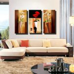 Panel Print Cheap Decorative Flower Abstract Modern Canvas Art Living Room Wall