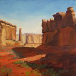 Park Avenue Morning Arches National Painting Julia
