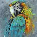 Parrot Abstract Puritanic