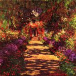 Path S Garden Giverny Painting Claude