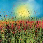 Poppy Flower Paintings Inspiration Yvonne