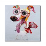 Popular Abstract Animal Face Oil Painting Buy Cheap