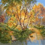 Popular Acrylic Paintings Trees Buy Cheap Lots
