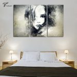 Popular Black Canvas Painting Ideas Buy Cheap Lots