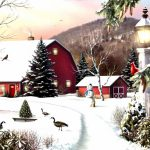 Popular Winter Landscape Paintings Buy Cheap Lots