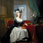 Portrait Marie Antoinette Queen France New Orleans Museum