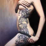 Quietly Sensual Paintings Women Unique Tattoo Designs Bad