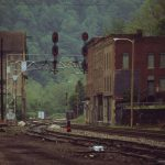 Raymond Gehman Railroad Junction Through Old Town Thurmond West Virginia