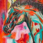 Red Horse Paint