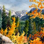 Rocky Mountain National Park Painting Anne