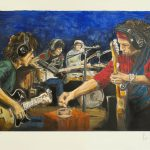 Ronnie Wood Rolling Stones Art