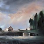 Saatchi Art Sad Landscape Painting Philippe