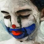Sad Clown Boy Jessica Art
