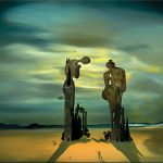Salvador Dali Surrealist Dadaist Cubist Painter Sculptor Part Tutt