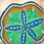 Sand Dollar Painting Degreesbleu