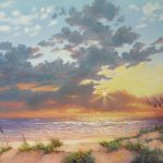 South Padre Island Splendor Painting Carol
