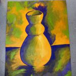 Split Complement Pot Painting Kingmelissa