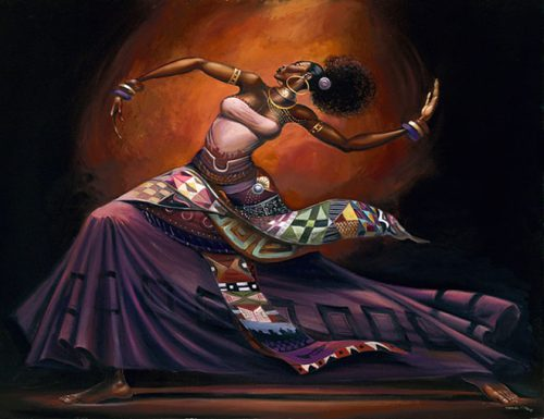 Stunning Black Woman Paintings Illustrations Frank Morrison