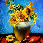 Sunflower Art Van Gogh Sunflowers