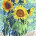 Sunflowers Mary