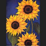 Sunflowers Rafuse Painting Unknown Artist Paintings