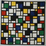 Surreal Art Piet Mondrian Abstract Trees