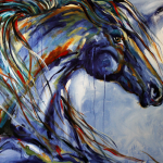 Texas Contemporary Fine Artist Laurie Pace Horse