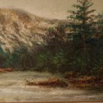 Thc Andirondack Landscape Oil Painting Sale Antiques