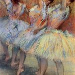 Three Dancers Edgar Degas