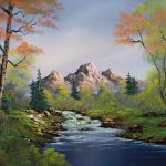 Touch Autumn Painting Bob Ross Paintings