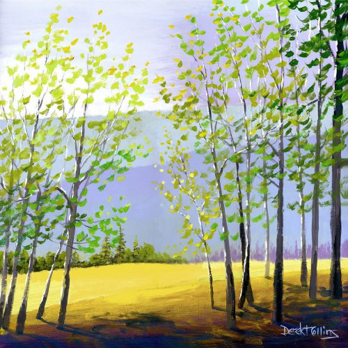 Tree Painting Print Acrylic Forest