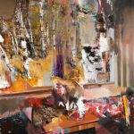 Two Paintings Romanian Adrian Ghenie Sell Eur