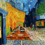 Van Gogh Masterpiece Cafe Terrace World Most Popular Oil