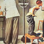 Vintage Norman Rockwell Doctor Office
