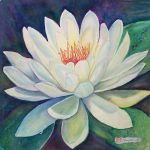Water Lily Painting Norma