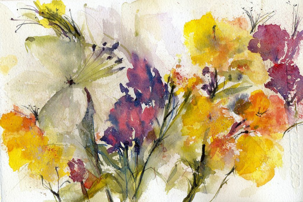 Watercolor Paintings Art Ideas Design Trends Premium Psd