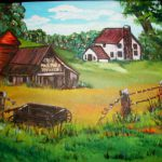 West Virginia Country Roads Series One Painting Terry