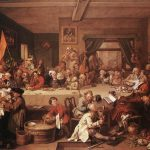 William Hogarth Election Entertainment Painting Best Paintings