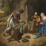 Wish Happy Holidays Christmas Paintings Famous Nativity