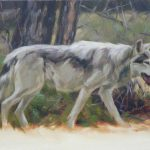 Wolf Paintings All